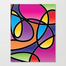 Loops Color 2 Canvas Print