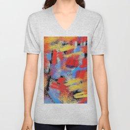 Multicolor pp ing Unisex V-Neck