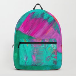 Colorful Emotions, Abstract Painting Backpack