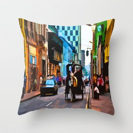 Lima, Peru - Around town Throw Pillow