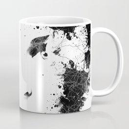 Abstract Black and White Composition Coffee Mug