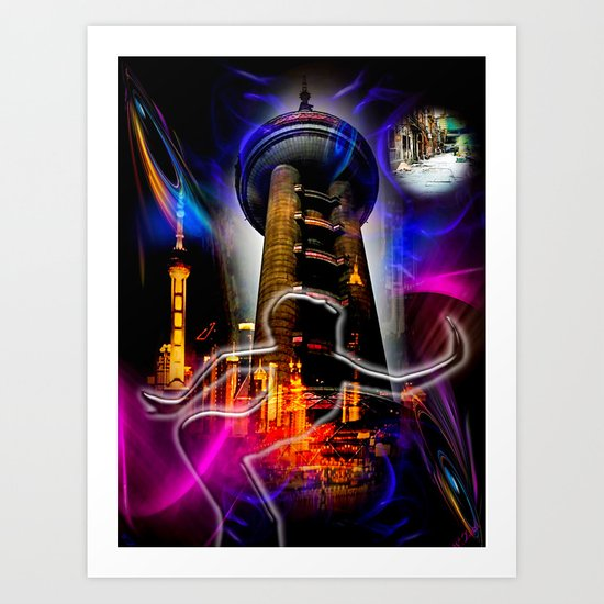 Asia World 20 Art Print