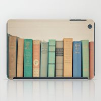literary iPad Cases featuring Literary Gems I by Laura Ruth