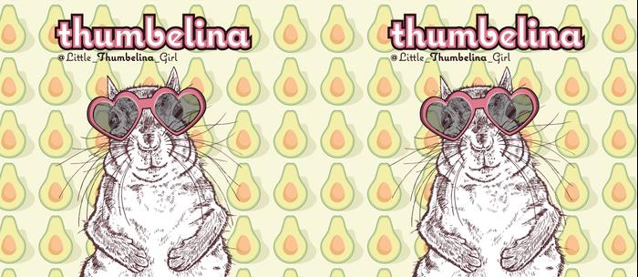 Little Thumbelina Girl: heart sunnies Coffee Mug