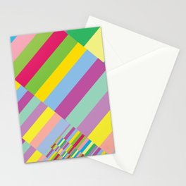 Stairs to Office  [COLORS] [COLOR] [COLORFUL]  Stationery Cards