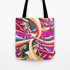 Explosion #2 Tote Bag