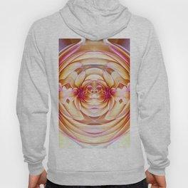 335 - Abstract Flower Orb Design Hoody