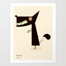 MY PROFILE / Borderline Bill Art Print