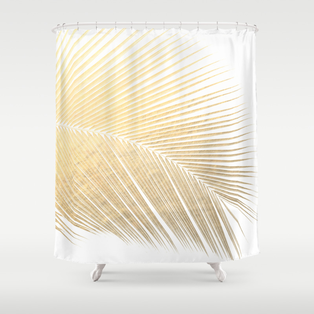 Foliage Shower Curtains Society6