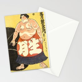 Sumo Wrestler Stationery Cards