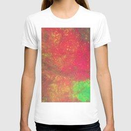 Neon Fluid Art T-shirt