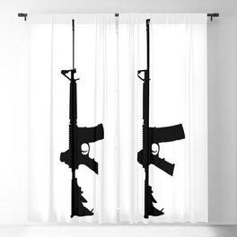 AR-15 Blackout Curtain