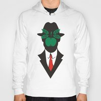 magritte Hoodies featuring René Magritte by Fen_A