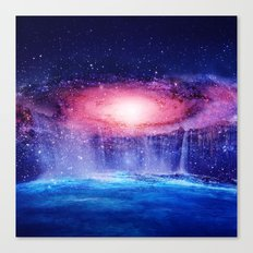 Andromeda Waterfall. Canvas Print