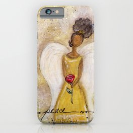 Angel of Peace 2 iPhone Case