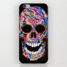 Chromatic Skull 02 iPhone & iPod Skin