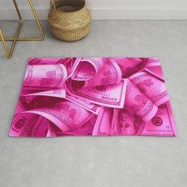 Pink Barbie Benjamins Rug