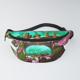 Miami Vice retro Fanny Pack