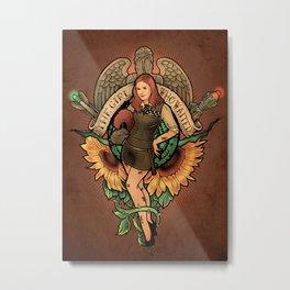 The Girl Who Waited Metal Print