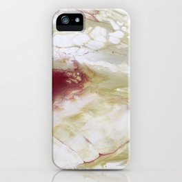 White Cells iPhone Case