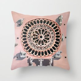 Assisi Cathedral Throw Pillow