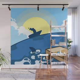 (Version: Kanto) 005 - Vermillion Harbor Wall Mural