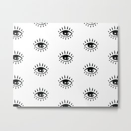 Evil Eye Magic Metal Print