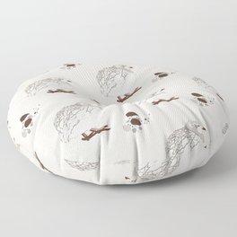 Mother Quail Floor Pillow