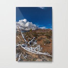 Desert Snow 4922 Metal Print