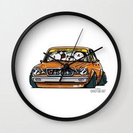 Crazy Car Art 0146 Wall Clock