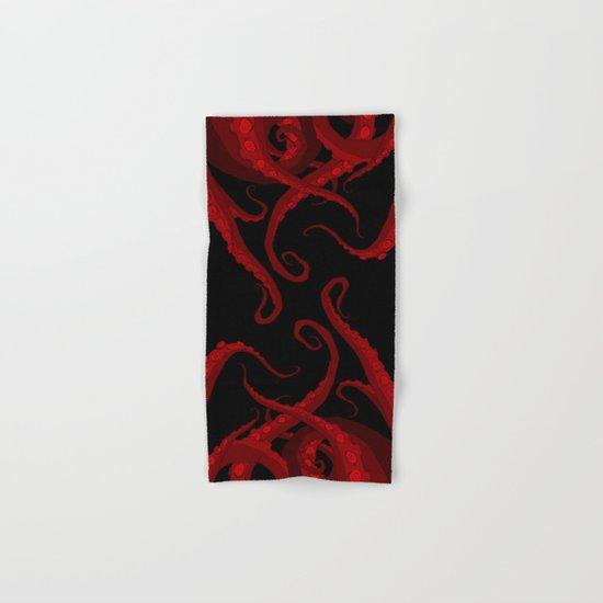 Subterranean Red Hand & Bath Towel
