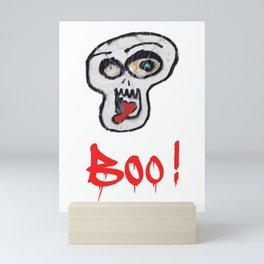 BOO! Mini Art Print