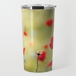 Wild Anemones Travel Mug
