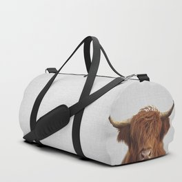 Highland Cow - Colorful Duffle Bag