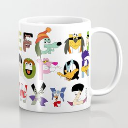 Child of the 70s Alphabet Coffee Mug