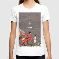 akira T-shirts featuring Akira by Rafael Romeo Magat