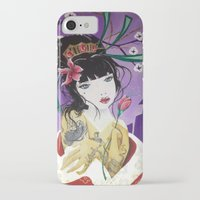 mulan iPhone & iPod Cases featuring Mulan by marmaseo
