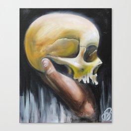 deaths deceit Canvas Print