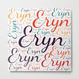 Eryn Metal Print