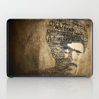 pulp fiction iPad Cases featuring pulp fiction by de4macja