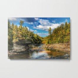 Swallow Falls Landscape Metal Print