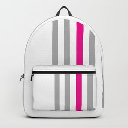 American Flag Pink Ribbon Breast Cancer Awareness Backpack