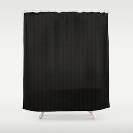 Antiallergenic Hand Knitted Black Wool Pattern - Mix & Match with Simplicty of life Shower Curtain