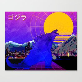 King of the monsters Canvas Print