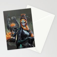 Midna Twilight Princess x 2 Stationery Cards