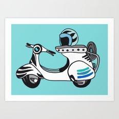 Beep Beep! Art Print