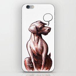 Talking Dogs iPhone Skin