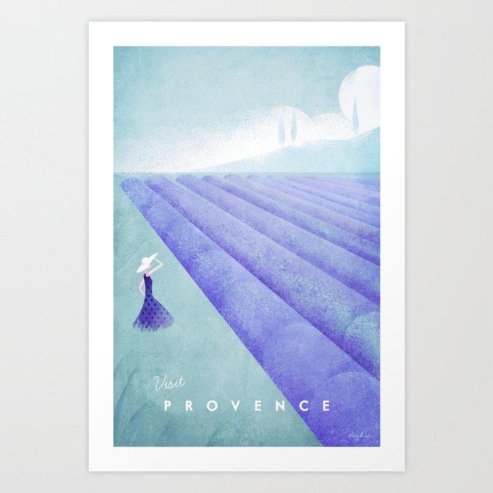Provence Art Print
