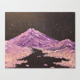 Hazey Chains Canvas Print