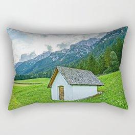 Wiesenweg im Gschnitztal Rectangular Pillow